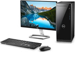 £545, Dell Inspiron 3670 (3000 Series)     (Evalue Code cd367014), Dell 23 Monitor - S2319H - 58cm(23inch) Black, Processor: 8th Generation Intel Core i3-8100 Processor (6MB Cache, up to 3.6 GHz), Ram: 8GB DDR4 at 2666MHz, Hard Drives: 3.5inch 1TB 7200 rpm Hard Drive, Optical Drives: DVD-RW Drive (Reads and Writes to DVD/CD), Graphics Card: Intel UHD Graphics 630, O/S: Windows 10 Home
