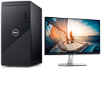 £1117, Dell Inspiron 3881     (Evalue Code cd388122), Dell 24 Monitor |S2421H -60.45cm(23.8inch) Black, Processor: 10th Gen Intel Core i7-10700 processor(8-Core, 16M Cache, 2.9GHz to 4.8GHz), Ram: 8GB, 8Gx1, DDR4, 2933MHz, Hard Drives: 512GB M.2 PCIe NVMe Solid State Drive, Graphics Card: NVIDIA GeForce GTX 1650 SUPER 4GB GDDR6, O/S: Windows 10 Home