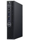 £347, Dell Optiplex 3070 micro     , Processor: Intel Core i3-9100T (4 Cores/6MB/4T/3.1GHz to 3.7GHz/35W), Ram: 4GB 1X4GB 2666MHz DDR4 Memory, Hard Drives: 2.5inch 500GB 7200RPM SATA Hard Disk Drive, O/S: Windows 10 Professional