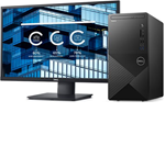£646, Dell Vostro 3888     , Monitor Included, Processor: 10th Gen Intel Core i5-10400 processor(6-Core, 12M Cache, 2.9GHz to 4.3GHz), Ram: 8GB, 1x8GB, DDR4, 2666MHz, Hard Drives: 256GB M.2 PCIe NVMe Solid State Drive, Graphics Card: Intel UHD Graphics 630 with shared graphics memory, O/S: Windows 10 Professional
