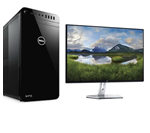 £999, Dell XPS 8930     (Evalue Code cdx89327), Dell 27 InfinityEdge Monitor - S2719H - 68.6cm(27inch) Black, Processor: 8th Generation Intel Core i5-8400 Processor (6-Core, 9M Cache, up to 4.3 GHz), Ram: 8GB 1x8GB DDR4 2666MHz Memory, Hard Drives: 3.5inch 1TB 7200RPM Serial ATA Hard Drive, Optical Drives: Tray load DVD Drive (Reads and Writes to DVD/CD), Graphics Card: NVIDIA GeForce GTX 1050Ti with 4GB GDDR5 Graphics Memory, O/S: Windows 10 Home